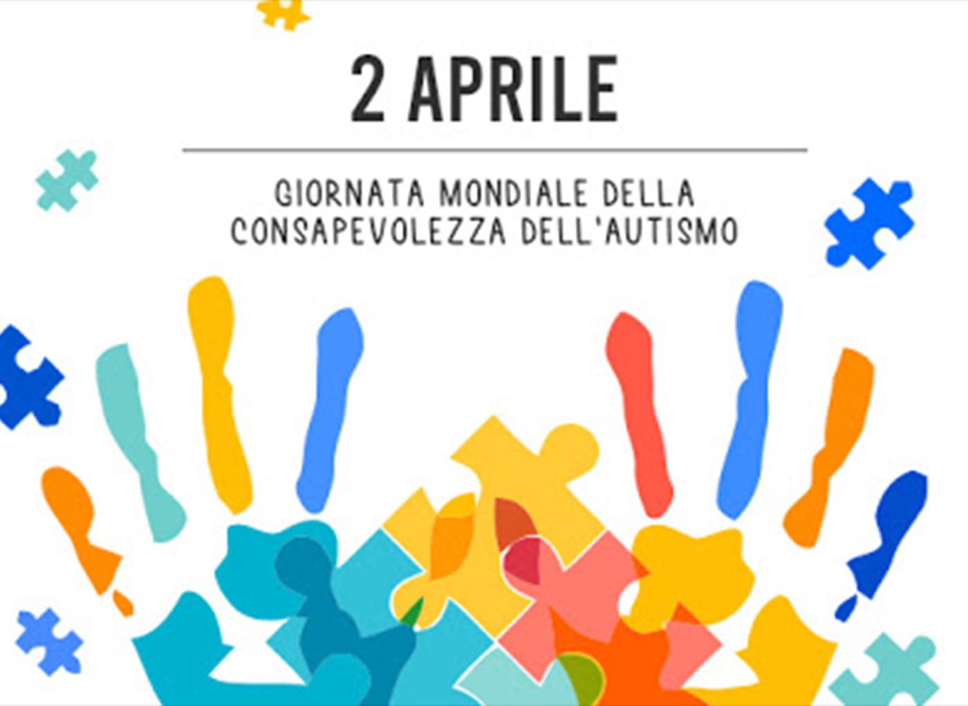 """""""Mi coloro di blu"""": Giornata mondiale della consapevolezza dell'autismo."""